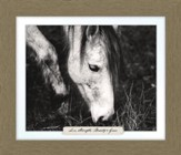 Love, Strength, Beauty & Grace, Horse Farm, Framed Art