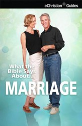 What the Bible Says About Marriage - eBook