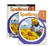 BJU Press Spelling 1 Homeschool Kit (3rd Edition)