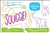 Squiggle! One-Line Animals Sketch  Pad