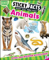 Sticky Facts: Animals Activity Book