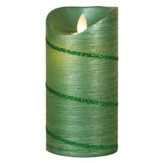 Flameless LED Candle, Special Occasion, Green