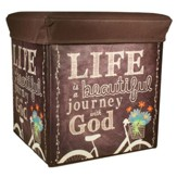 Journey with God Collapsible Storage Box