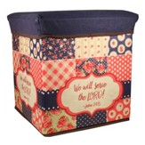 Serve the Lord Collapsible Storage Box