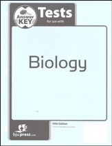 BJU Press Biology Grade 10 Tests Key (5th Edition)
