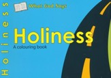 What God Says: Holiness, A Coloring Book