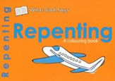 What God Says: Repenting, A Coloring Book