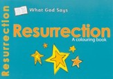What God Says: Resurrection, A Coloring Book