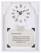 Grandmother, Praying for You Every Day, Tabletop Clock