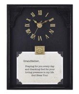 Grandfather, Praying for You Every Day, Tabletop Clock