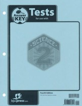 Science Grade 2 Tests Answer Key (4th Edition)