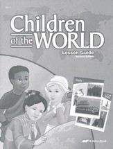 Abeka Children of the World Lesson Guide