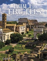 BJU Bible Truths Level E (Grade 11)  Student Text, Third  Edition (Updated Copyright)