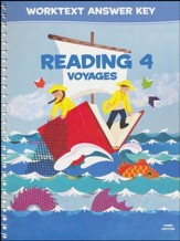 BJU Press Reading 4 Worktext Answer  Key (3rd Edition)