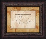 The Great Commission, Go Ye Therefore, Framed Art