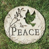 Peace Stepping Stone with Bird