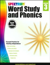 Spectrum Phonics & Word Study Grade 3 (2014 Update)