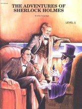 Adventures Of Sherlock Holmes, Activity Book, Level 5