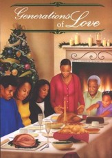 Generations of Love Christmas Cards, African American , Box of 15