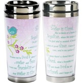 Sisters In Christ Travel Mug