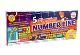 5 Olympian Number Line Board Games Set 1, Grades K-1