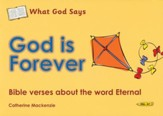 What God Says: God is Forever (Eternal), Coloring Book
