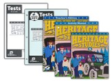 BJU Heritage Studies Grade 5 Homeschool Kit (Fourth Edition)