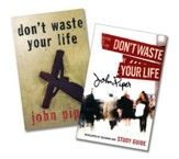 Don't Waste Your Life Book & Study  Guide, 2 Volumes
