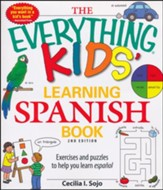 The Everything Kids' Learning Spanish Book, 2nd Edition  - Slightly Imperfect