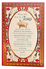 What We Find In Jesus Cards, Box of 18