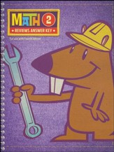 Math Grade 2 Reviews Key (4th Edition)