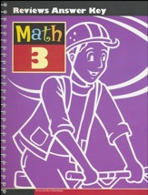 Math Grade 3 Reviews Key (3rd Edition)