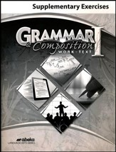 Abeka Grammar and Composition I Supplementary Exercises
