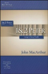 1 & 2 Peter, John MacArthur Study Guides   - Slightly Imperfect
