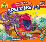Mighty Mini Software: Spelling 1-2 Deluxe Edition CD-Rom