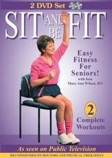 Sit and Be Fit (2 DVD Set)