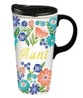 Aunt, Ceramic Travel Mug