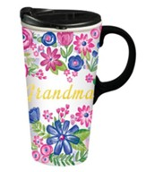 Grandma, Ceramic Travel Mug