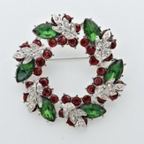Christmas Wreath Story Pin