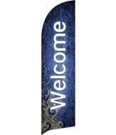 Adornment Welcome Flag Banner