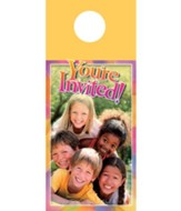 Kids Pyramid Door Hanger, Pack of 150