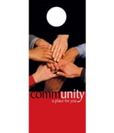 Community Door Hanger, Pack of 150