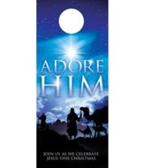 Adore Him Door Hanger, Pack of 150