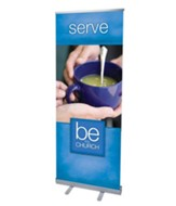 Be The Church Serve (31 inch x 79 inch) RollUp Banner