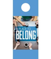 Overhead Belong Door Hanger, Pack of 150