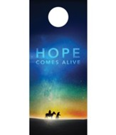 Hope Comes Alive Door Hanger, Pack of 150