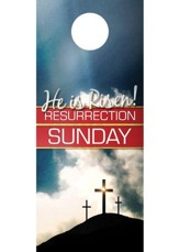 Risen Resurrection Door Hanger, Pack of 150