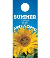 Summer is Awesome Door Hanger, Pack of 150