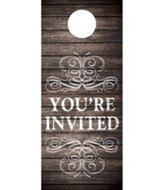 Rustic Charm Welcome Door Hanger, Pack of 150