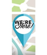 We Are Here Door Hanger, Pack of 150